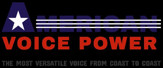 Brad Hyland American Voice Power! banner logo